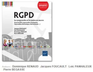 Couverture ouvrage RGPD